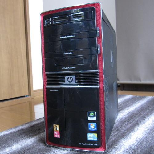 HP製パソコンHPE-290jp/CT