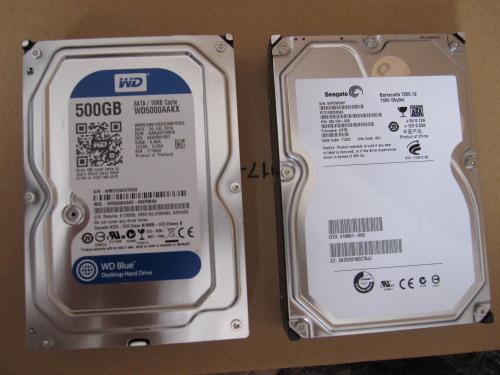 新旧HDD