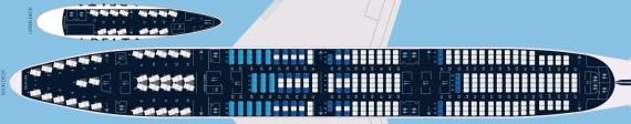 デルタ航空747-400型機