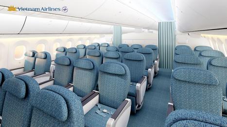 ベトナム航空787-9型機プレミアムエコノミークラス