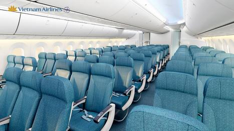 ベトナム航空787-9型機エコノミークラス