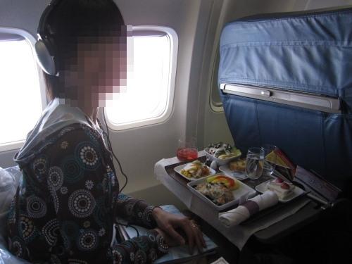 デルタ航空ビジネスクラス