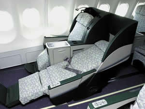 エバー航空A330-300ビジネスクラス