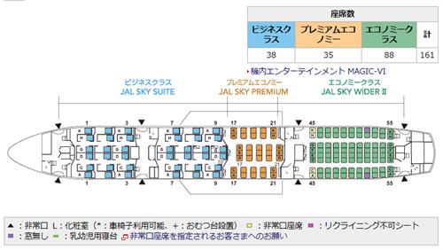 jal_787-8シートマップ