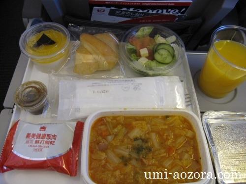 JAL098便機内食