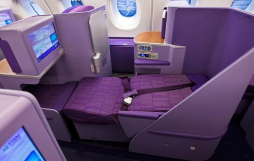 タイ国際航空A380ロイヤルシルククラス