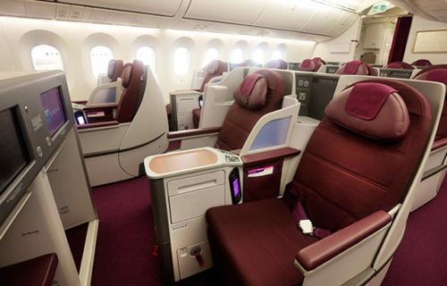 タイ国際航空B787-8型機ロイヤルシルククラス