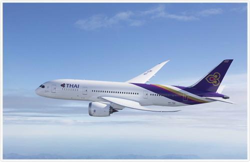 タイ国際航空 B787-8型機