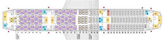 ANA_787-9 シートマップ
