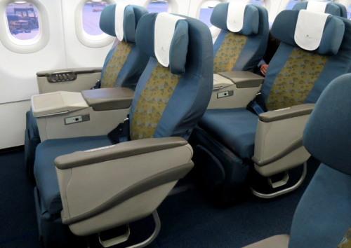 ベトナム航空A321-200ビジネスクラス