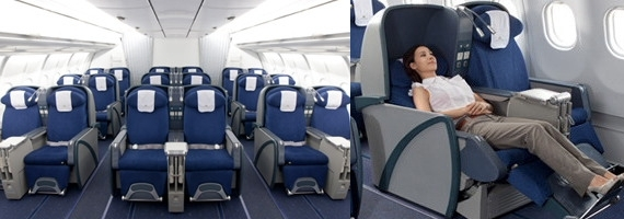 ベトナム航空A330-200ビジネスクラス