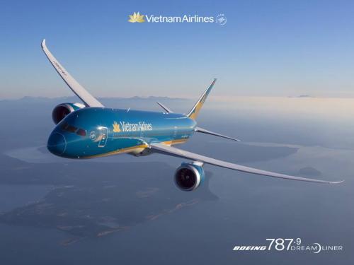 ベトナム航空787-9型機