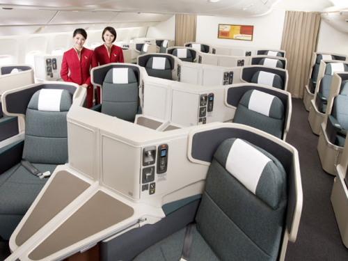 CX_777-300ERビジネスクラス
