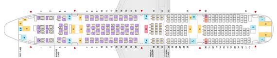 ANA_777-300-250席仕様機シートマップ