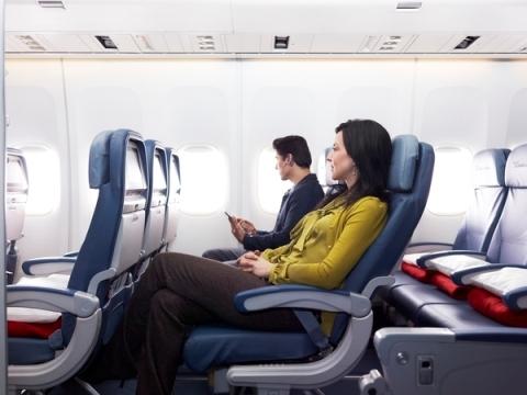 デルタ航空コンフォートプラス01