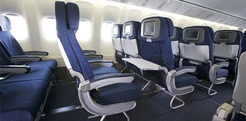 ユナイテッド航空の「ユナイテッドエコノミープラス」をご紹介