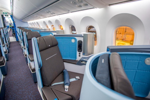 KLM_787-9_ビジネスクラス02