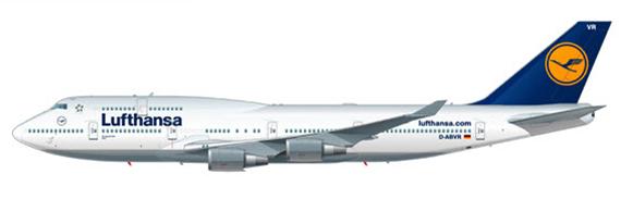 ルフトハンザB747-400