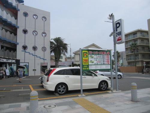 片瀬江の島駐車場01