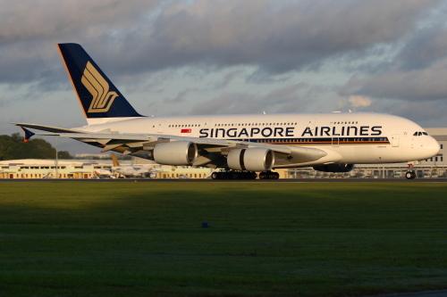 シンガポール航空_A380-800型機