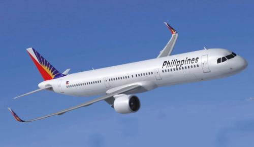 フィリピン航空 A321-200型機